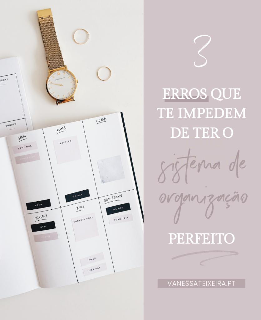 3 Erros que te Impedem de ter o Sistema de Organização Perfeito